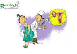 Thai ngoài tử cung cũng là nguyên nhân gây nên khí hư màu nâu